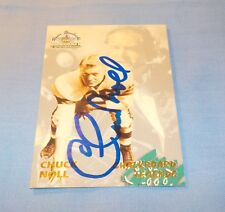Chuck Noll Signed Autographed 1994 Ted Williams Card Company Pitt Steelers HOF B