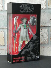 Star Wars Black Series CONSTABLE ZUVIO 6 Inch Action Figure The Force Awakens
