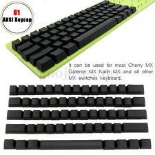 Blank PBT 61 ANSI Keycaps For Cherry MX Switches Mechanical Keyboard DIY Key Cap