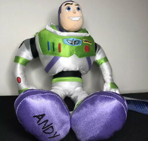 "New With Tags Disney Toy Story 4 Buzz Lightyear 17"" Stuffed Soft Nylon Doll"