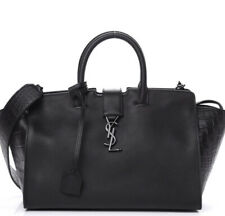 Saint Laurent Uptown Crocodile Calfskin Handbag YSL