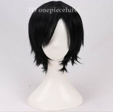 Mettaton Short Black straight Cosplay Party Wig +a wig cap