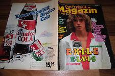 Freizeit Magazin # 31 vom 30.7.1979 -- LEIF GARRETT-NINA HAGEN-FOXY-RACEY-HAIDER