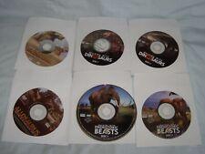 Walking With Prehistoric Beasts/Dinosaurs/Allosaur us /Before Dinosaurs 6 Dvd Lot