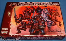 DARK ALLIANCE #72028. CIMMERIANS set 2. 1/72 SCALE FANTASY BARBARIANS