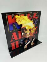 "Kiss Alive II Ace Frehley 3D album display 8"" standee vinyl holder (figure)"
