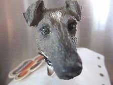 Fox Terrier Brown Interchangeable Head See All Breeds Bodies @ Ebay Store)