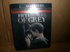 Fifty Shades of Grey Unrated 4K Ultra HD + Blu-ray + Digital Copy New Sealed