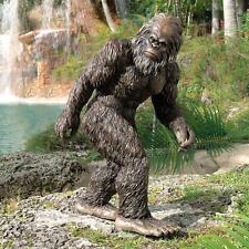 "Realistic Life Like Sasquatch Sculpture 28.5"" Garden Yeti Bigfoot Statue New"