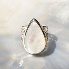 Mondstein Ring, 925er Silber, Edelsteinring (21600), Edelsteinschmuck