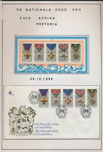 XC67792 South Africa 1990 Pretoria medals fine MNH/used