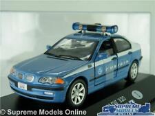 BMW 320 MODEL POLICE CAR 3 SERIES 1:43 SCALE POLIZIA DI STATO 2000 (CASE) K8