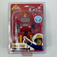 Fireman Sam Convertible Fire Engine Action Figure Transformer Toy Play Set - New