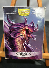 Dragon Shield Art Standard Sized RPG Card Playing Sleeves - CARNAX ART -96 Count