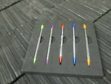 NEW 5pk  slot in metal extendable stylus pen Nintendo 2DS multi color DS 5 Pack