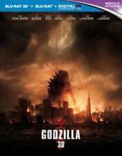 Godzilla Blu-ray 3d Blu-ray 2014 Region DVD 5051892163712