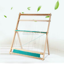 Wooden Tapestry Hand Knitted Machine Stand Diy Woven Set Weaving Loom Kit Usa /