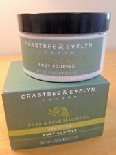 Crabtree & Evelyn Pear And Pink Magnolia Uplifting Body Souffle cream 8.64oz new