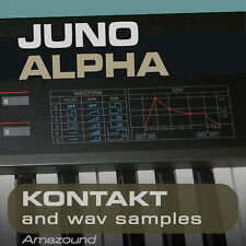 JUNO ALPHA SAMPLES for KONTAKT NKI + WAV HQ 24BIT MAC PC MPC LOGIC PRO TOOLS FL