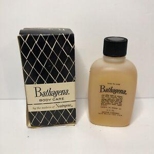 Vintage NOS Neutrogena Bathagena Body Care Oil 4 oz NEW IN BOX