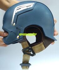 Mens Halloween Christmas Xmas Cosplay Captain America Wearable Motorcycle Helmet