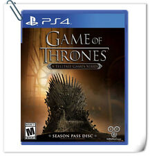 PS4 Game of Thrones A Telltale Games SONY PlayStation Adventure Games