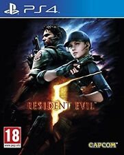 Resident Evil 5 HD Remake (PS4)