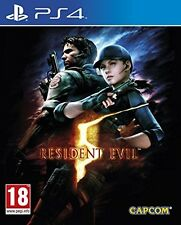 Resident Evil 5 HD Remake (PS4) [New Game]