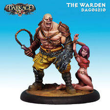 OUTLET Dark Age Outcast The Warden miniatures 35mm new