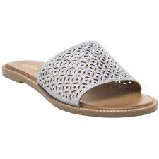 New Womens Lotus Metallic Bolsena Synthetic Sandals Flats Slip On