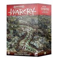 Warhammer Fantasy Age of Sigmar Warcry Souldrain Forest Ravaged Land Terrain Set