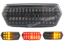 Rear Tail Turn Signals Integrated Light Smoke Fit 2014-2017 HONDA CB650F CBR650F