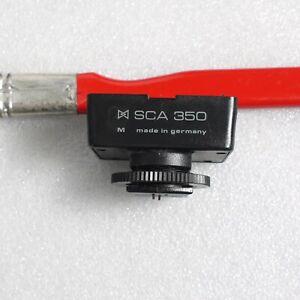 Metz Mecablitz SCA 350 Leica Manual Adapter Shoe Mount Flash 35mm SLR film