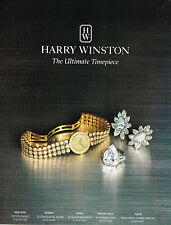 PUBLICITE ADVERTISING 124  1995  HARRY WINSTON  joaillier