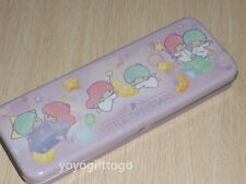 2018 Sanrio Little Twin Stars Metal Pencil Case Pencil Box