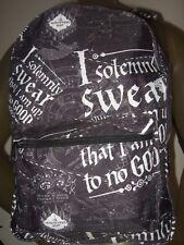 Harry Potter Marauders Map I Solemnly Swear Wizardry Hogwarts Backpack Book Bag