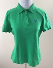 EP Tour Dry Golf Kelly Green Polo Top Shirt Ocean Reef Club Florida Logo Sz M