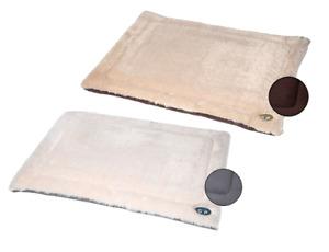 Pet Dog Cat Calming Crate Mat Comfy Warm Fluffy Soft Washable Pad Nordic Gor Pet