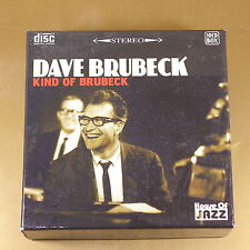 DAVE BRUBECK - KIND OF BRUBECK - 10CD BOX - 2010 T2 - OTTIMO CD [AO-113]