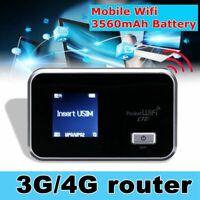 NEW Mobile Broadband Router MiFi LCD Wireless Hotspot UNLOCKED 3G LTE WiFi PART