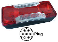 COBO o/e IVECO DAILY CASSONE RIBALTABILE 2006 - > REAR TAIL LIGHT Lampada Unità SINISTRO ESTERNO