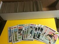 1977 Topps Baseball U Pick Finish Your Set Stars, Semis! BUY 8= FREE SHIP #1-460