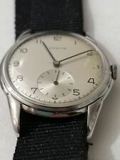 Orologio Zenith carica manuale 35 mm vintage suisse made serviced