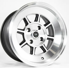 15x9 Rota SHAKOTAN 4x100 -15 Full Royal Black Wheel (1)