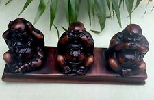 Hear See Speak No Evil Buddha Statue Sitting Buddha Figure Buddha Statue Luck.