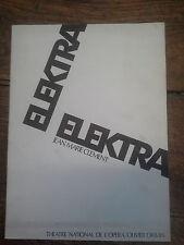 Elektra - Jean-Marie Clement