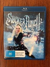 Sucker Punch Blu-ray Region Free Disc VGC