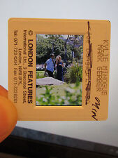 More details for original press promo slide negative - kylie minogue & mark gerber - 1990's