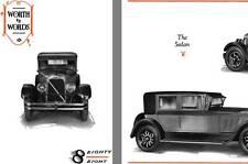 Auburn 1925 - 1925 Auburn Eighty Eight - Worth vs Words