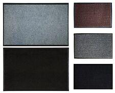 Schmutzfangmatte Fußmatte Bodenmatte Türmatte mit Rand Fußabtreter vers. Größen